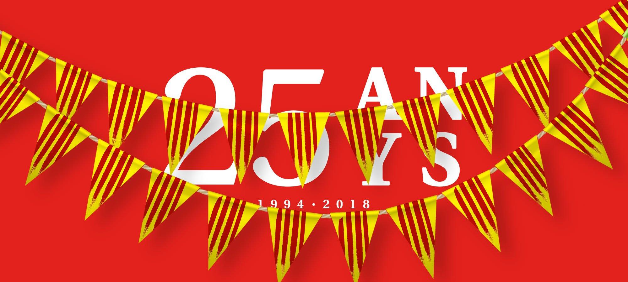 Vine a la festa dels 25 anys de Socarrats!