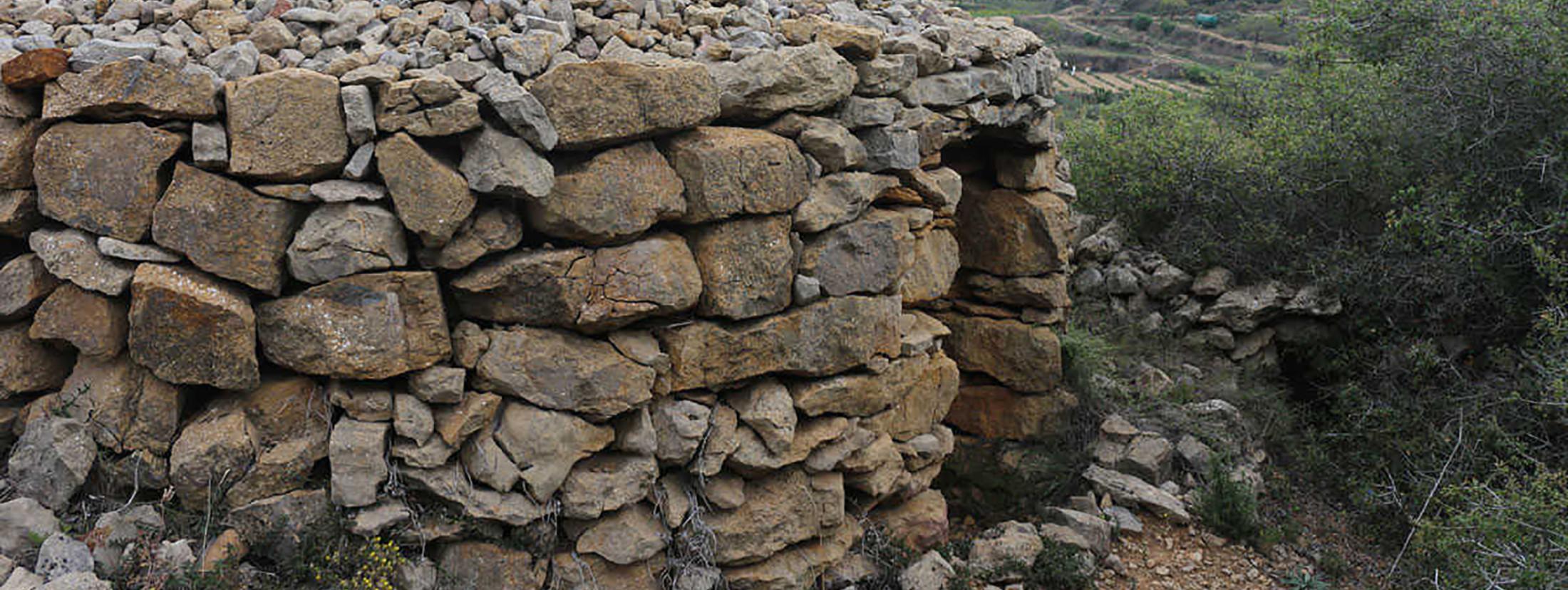 La pedra en sec, una tècnica de construcció mil·lenària